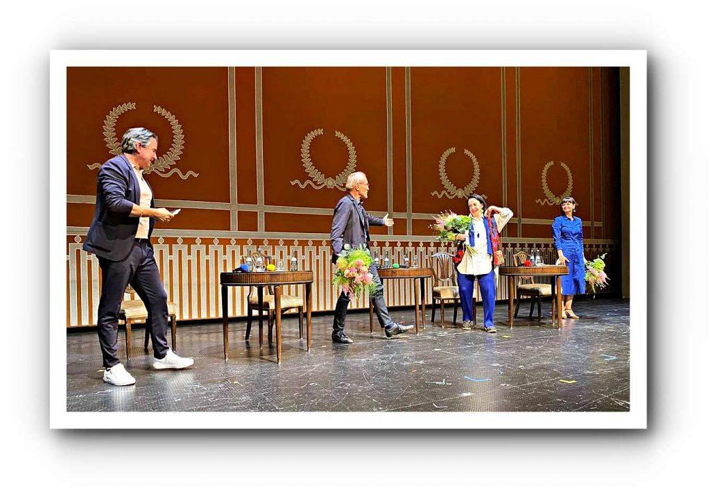 Das Stuttgarter Ballett feierte sein 60-jähriges Bestehen mit einem Podiumsgespräch lebender Legenden