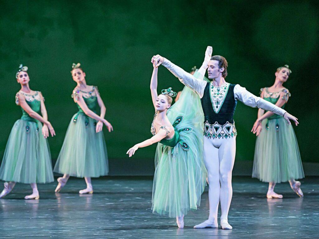 """""""Jewels"""" von George Balanchine beim Bayerischen Staatsballett"""